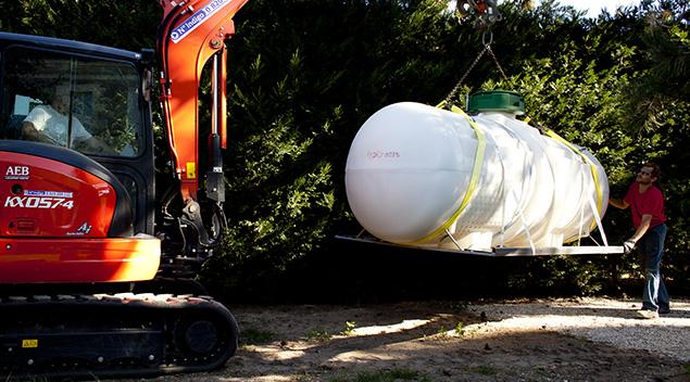 Branchement du réservoir de propane dépannage